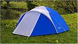 Намет 2-х місна Acamper ACCO2 синя - 3000мм. Н2О - 2,9 кг, фото 5