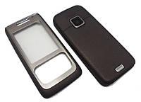 Корпус для Nokia E65 коричневый High Copy
