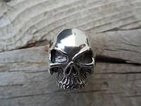 "Серебряное кольцо ""Череп"" от WickerRing"