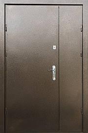 Полуторні двері REDFORT Метал-Метал оптіма+