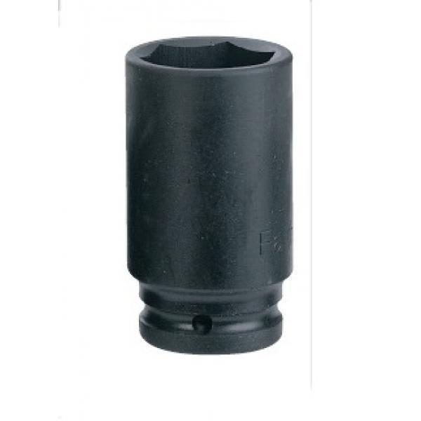 "1"" Головка шестигранная ударная, глубокая 32 мм, L=100 мм (FORCE 48510032)"