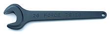 Ключ рожковый усиленный 22 мм, L=197 мм (FORCE 79122)