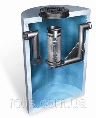 Бетонный сепаратор нефтепродуктов ACO OLEOPATOR-K NS40