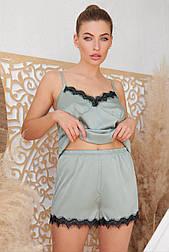 Женские домашние шелковые шорты Шайлин