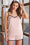 Женские домашние шелковые шорты Шелби, фото 3