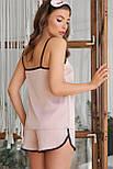 Женские домашние шелковые шорты Шелби, фото 4