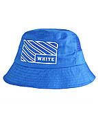 Панама капелюх для чоловіків літня 58см. синя