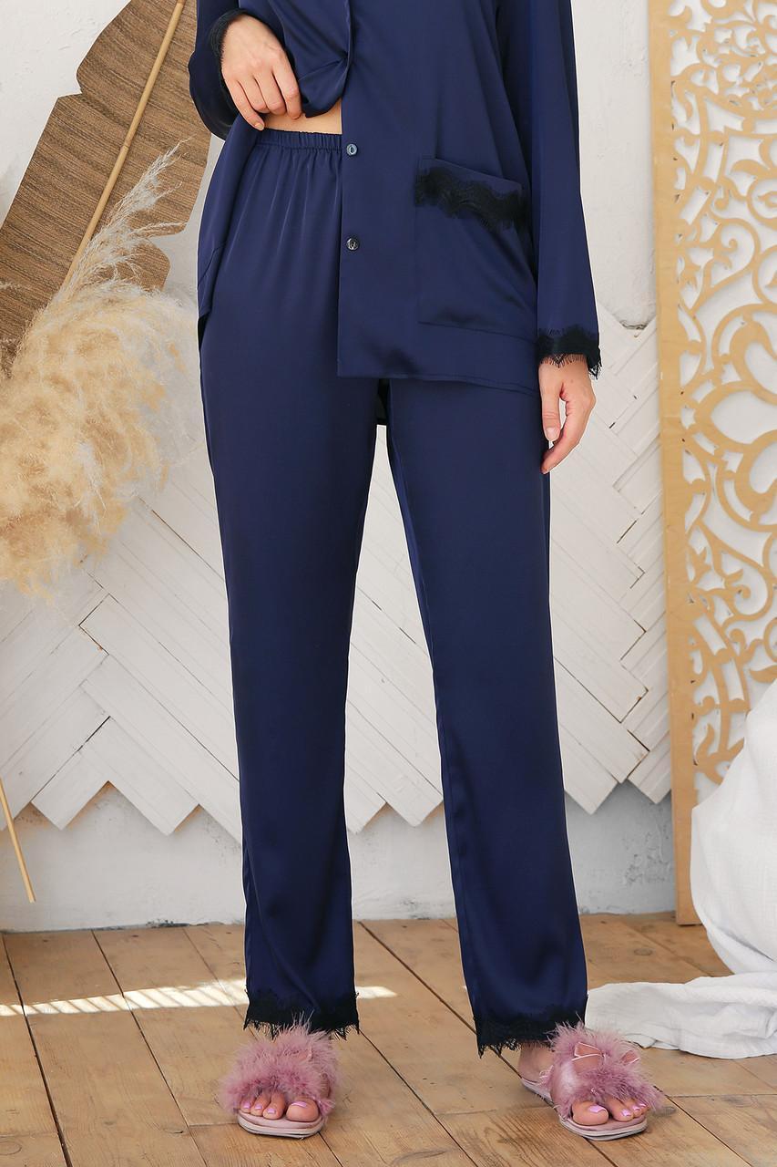 Жіночі шовкові домашні штани Долорес