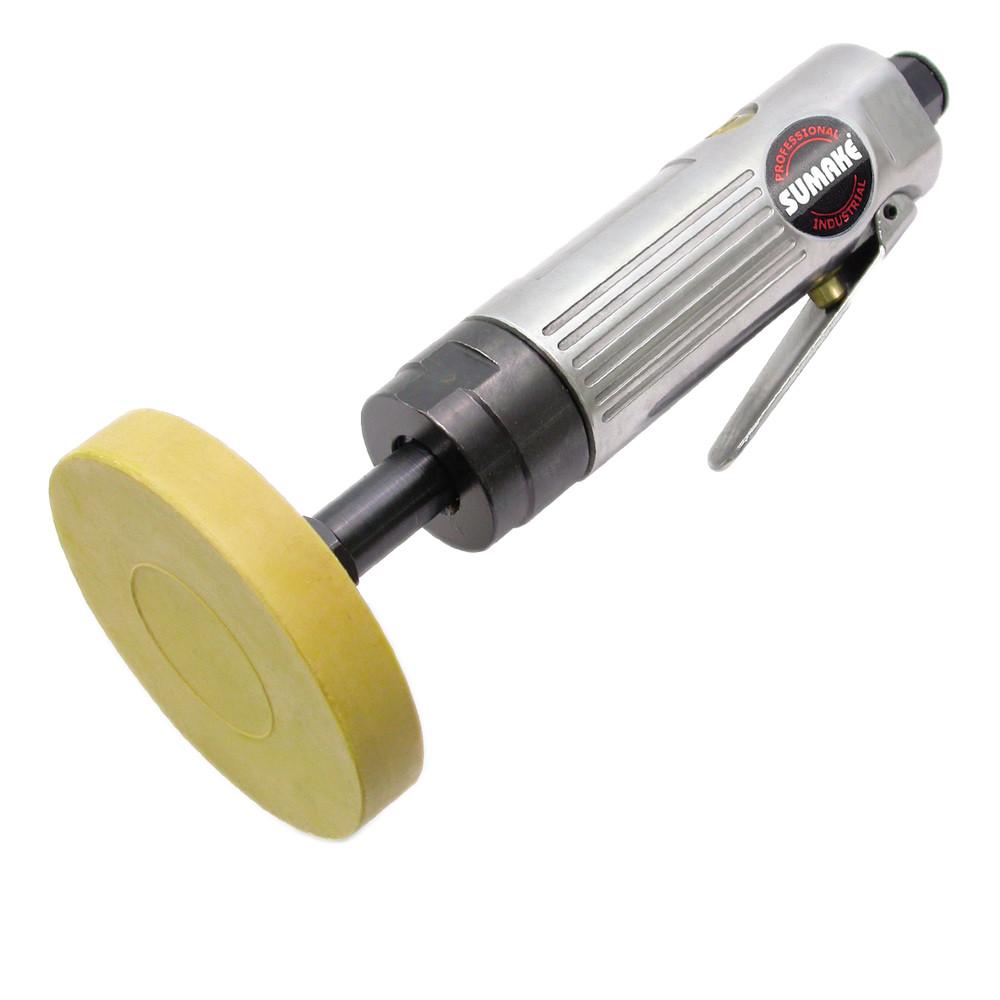 Пневматическая цилиндрическая машинка с резиновым зачистным диском 4000 об/мин (Sumake ST-6634)