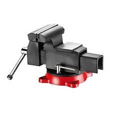 Тиски стальные поворотные 250 мм (FORCE 6540210A)