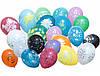 """Воздушные шарики12""""(30 см)Ассорти рисунки"""