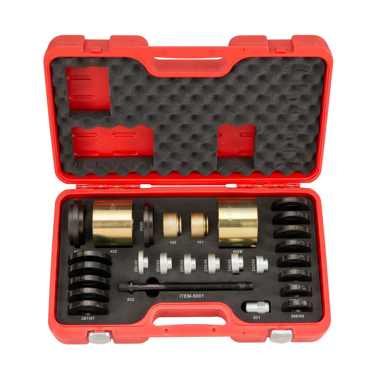 """Головка торцева ударна глибока тонкостінна 1/2"""" 21 мм, особливо міцна LICOTA (ANS4021L-HT)"""