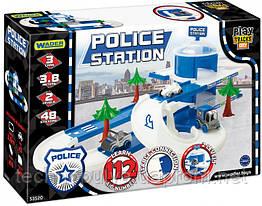 Автомобильный трек Wader Play Tracks City Набор полиция (53520)