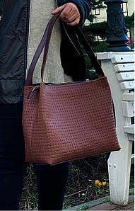 732-1 Натуральная кожа Коричневая женская сумка на плечо тиснение 3D кожаная женская сумка мягкая коньячная