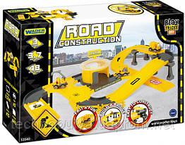 Автомобильный трек Wader Play Tracks City Набор строение (53540)