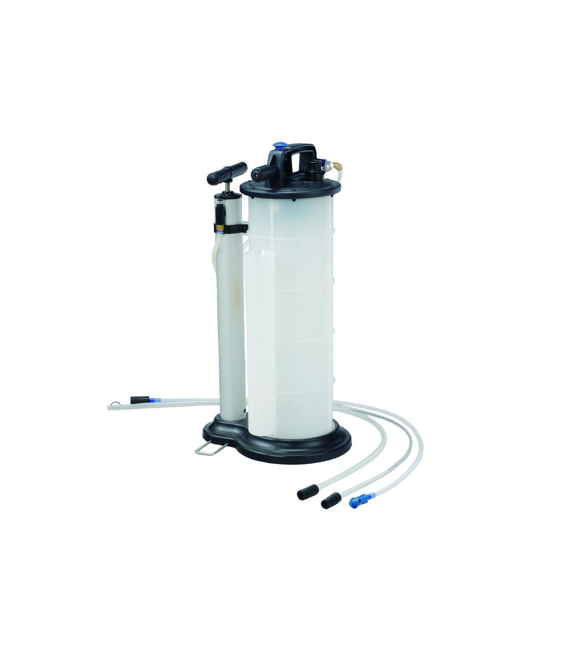 Приспособление для откачки технических жидкостей 9 л ручное/пневматическое (FORCE 9T3606)