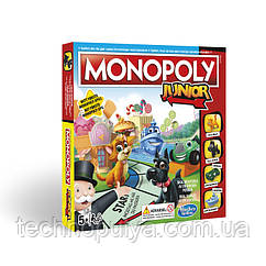 Настільна гра Hasbro Моя перша монополія (A6984121)