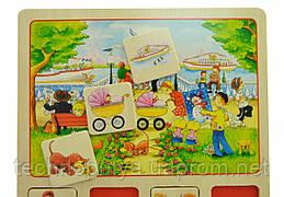 Настільна гра goki Лото Наш маленький місто (56740)