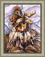 Набор для вышивки крестом Золотое Руно ЛС-003 Совет мудрых