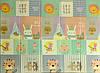 """Детский складной развивающий термо коврик """"Слон + муз.животные"""""""
