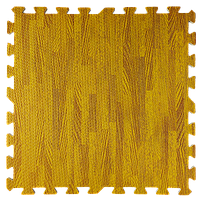 Підлога пазл - модульне підлогове покриття 600x600x10мм бурштинове дерево