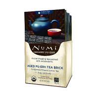 """Черный чай """"Пуэр"""" в брикете Numi"""