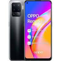 Смартфон с функцией нфс, большим дисплеем и 4 хорошими камерами на 2 сим карты OPPO Reno5 Lite Black 8/128 гб