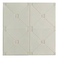 Самоклеюча декоративна настінно-стельова 3D панель плитка 700x700x4.5мм