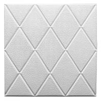 Самоклеющаяся декоративная потолочно-стеновая 3D панель 700x700х7мм, фото 1
