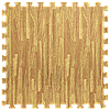 Пол пазл - модульное напольное покрытие 600x600x10мм золотое дерево