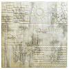 Самоклеюча декоративна 3D панель візерункова 700x700x7,5мм