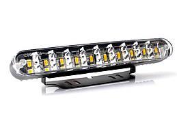 Фари доп/денного світла LP-35600 DRL 30LED/4W/12V/пластик/190*26mm/з поворотами (LP-35600)