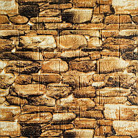 Самоклеюча декоративна 3D панелі під камінь 700х770х5мм, фото 1