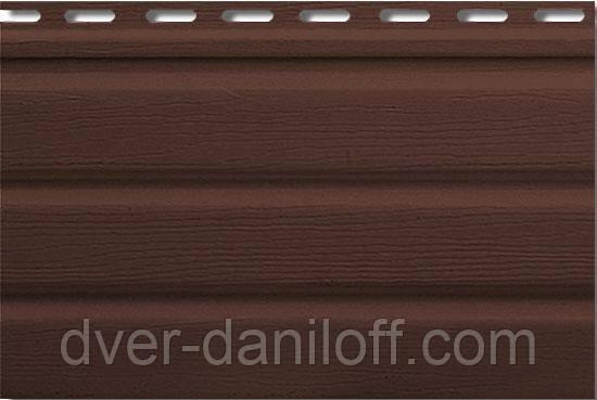 Софіт,Альта-Профіль,Т-20-УN з частковою перфорацією 3000х230 мм, коричневий, фото 2