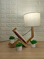 Настільна лампа-чоловічок, фото 1