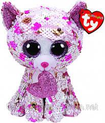 Мягкая игрушка TY Flippables Котенок Cupid 15 см (36340)