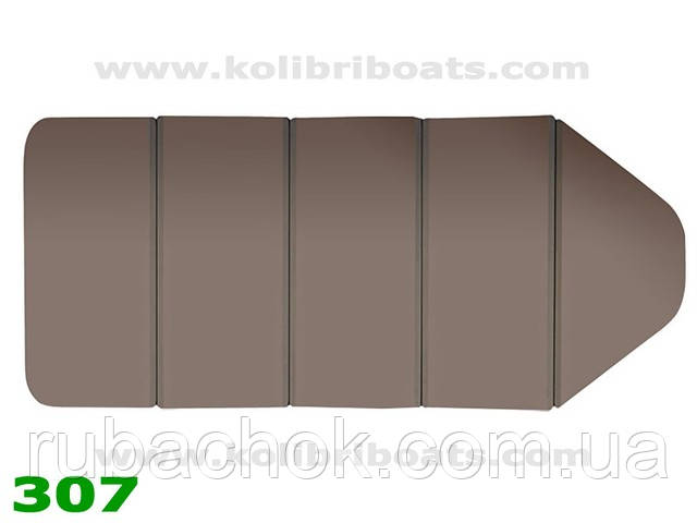 Пайол слань-книжка К-290Т коричневый.