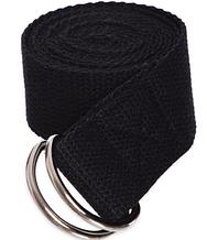Ремінь для йоги FI-4943 Чорний