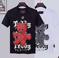 Футболка Philipp Plein bear color 637 black