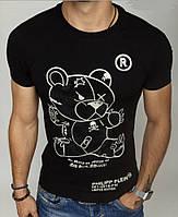 Футболка Philipp Plein bear bw 502 black
