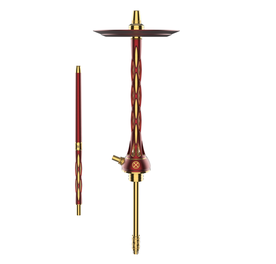 Кальян Blade Hookah One M Red Gold (Блейд Хука Уан М Красно Золотой)