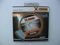 Отрезной диск X-treme Круг алмазный Ceramics 180х5х22.225