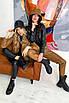Женская черная куртка косуха из матовой эко кожи, фото 8