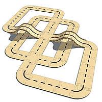 Конструктор автотрасса-трек «BIG» для машинок HotWheels (PR12312)