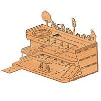 Конструктор многоуровневая атопарковка-гараж «ГОРОД» для машинок HotWheels (PR12317)