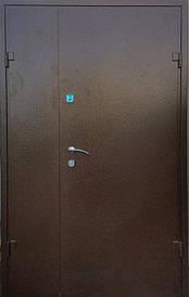 Полуторні двері REDFORT Арка Метал - МДФ оптіум+