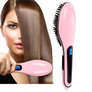 Электрическая расческа щетка выпрямитель Fast Hair для выпрямления волос