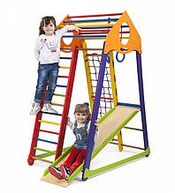 Спортивний комплекс для дітей BambinoWood 170 / Дитячий майданчик / Драбінка Гімнастична