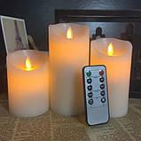 Світлодіодні свічки з імітацією полум'я, фото 4