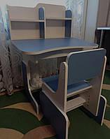 Детская парта растишка со стульчиком от производителя Высота стола и стула регулируется